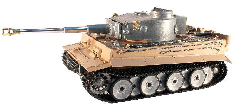 "Радиоуправляемый танк Taigen German Tiger ""Тигр"" 1:16- 2.4GHz (Early version metal edition) - TG3818-1C"